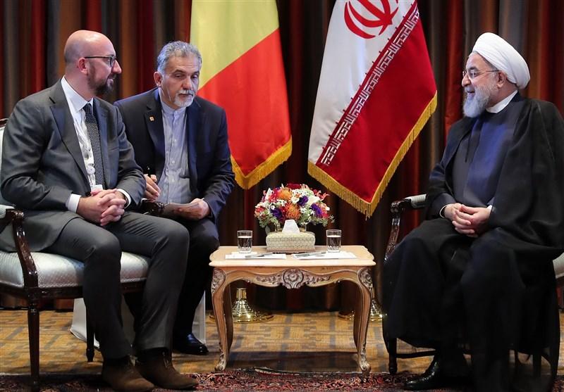 Iranian President Urges EU's Practical Measures to Save JCPOA