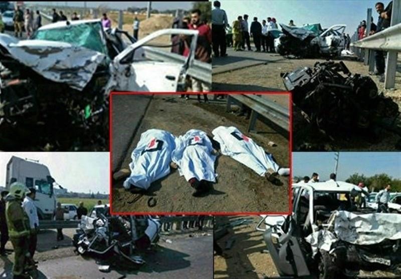 روزانه 2 کودک قربانی تصادفات رانندگی میشوند