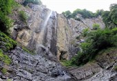 Laton Waterfall; Highest of Its Kind in Iran