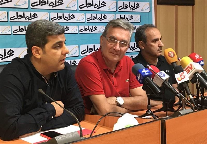 اعلام زمان نشست خبری سرمربیان پرسپولیس و نود ارومیه