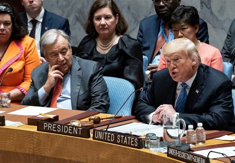 Trump Chairs UNSC Session but Faces Opposition on Iran Issue