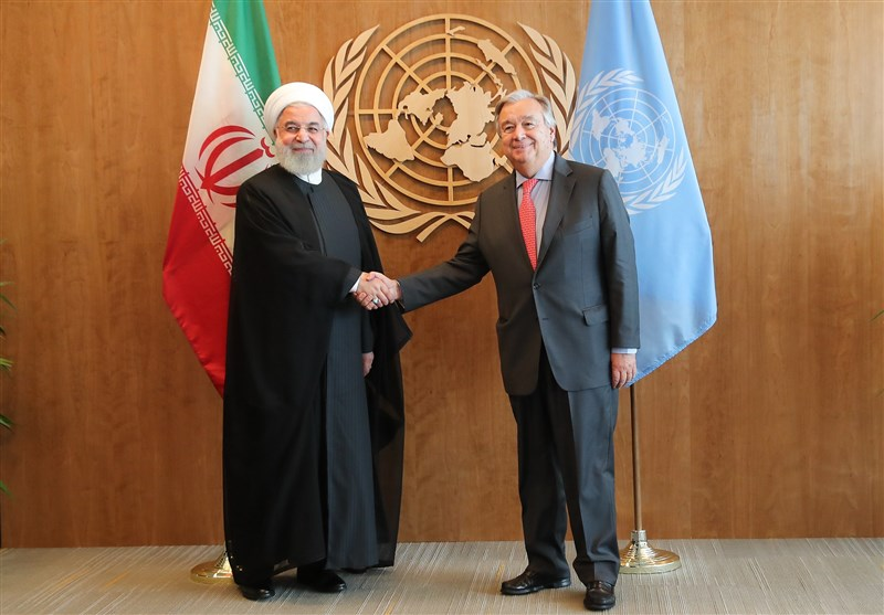 دبیرکل سازمان ملل: برای صدور روادید روحانی و ظریف تلاش میکنیم