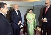 ظریف: هند به خرید نفت از ایران ادامه میدهد