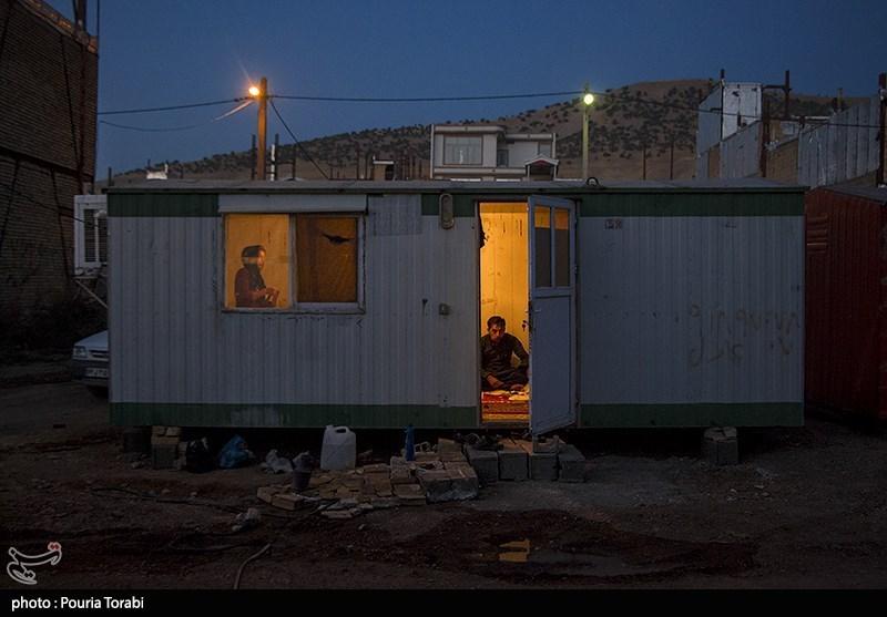 کانکسهای مناطق زلزلهزده استان کرمانشاه جمعآوری میشود