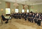 اردوغان با نمایندگان سازمانهای مردم نهاد ترک در آلمان دیدار کرد