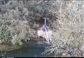"""زمینخواری در کهگیلویه و بویراحمد به رودخانهها رسید؛ زخمهای عمیق بر پیکر نیمه جان """"بشار""""+فیلم"""