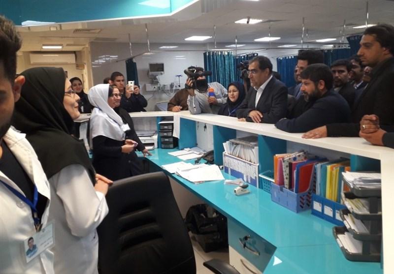 خوزستان | آخرین وضعیت 3 طرح بهداشتی بندرماهشهر از زبان وزیر بهداشت