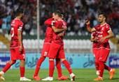 لیگ برتر فوتبال| صعود تراکتورسازی به رتبه سوم جدول و کسب اولین پیروزی شاگردان علی کریمی و مرزبان