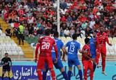 لیگ برتر فوتبال  تساوی یک نیمهای تراکتورسازی مقابل پیکان