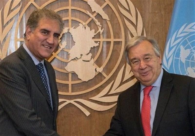 پاکستانی وزیرخارجہ کا اقوام متحدہ کے سیکریٹری جنرل سے ٹیلیفونک رابطہ، پاک بھارت تعلقات پر تبادلہ خیال