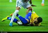 جامحذفی فوتبال| تساوی استقلال خوزستان مقابل صنعت نفت آبادان در نیمه اول
