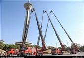 اضافه شدن 6 نردبان 32 متری به ناوگان آتشنشانی تهران