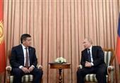 تاکید پوتین بر توسعه روابط تجاری دوجانبه با قرقیزستان