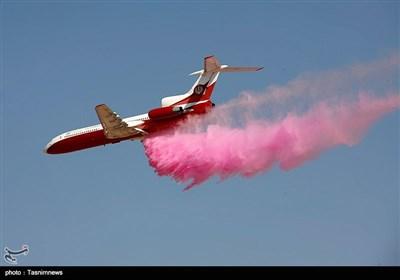 رونمایی از سامانه آتش نشان هوایی