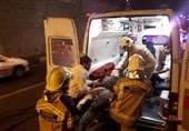 واژگونی خونین پژو 206 در تونل نیایش + تصاویر