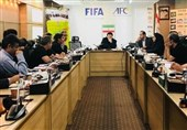 نشست هماهنگی میزبانی از مرحله نیمه نهایی و فینال احتمالی آسیا در تهران