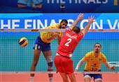 والیبال قهرمانی جهان| برزیل با شکست صربستان فینالیست شد