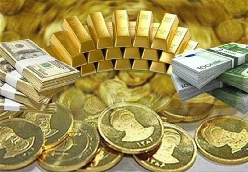 قیمت طلا، قیمت دلار، قیمت سکه و قیمت ارز امروز ۹۷/۰۷/۰۸ ,