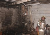 آتش گرفتن منزل حین شستوشوی وسایل با بنزین + تصاویر