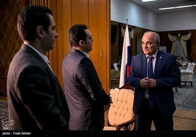 مصاحبه اختصاصی خبرگزاری تسنیم با سفیر روسیه