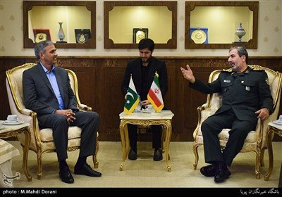جنرل اکرام الحق کی جنرل قدیر نظامی سے ملاقات