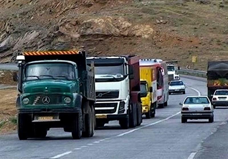 جریمه اضافه بار وسایل نقلیه سنگین در محورهای مواصلاتی استان مرکزی افزایش یافت
