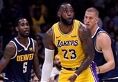 مسابقات پیش فصل NBA|جیمز نخستین بازی خود را برای لیکرز انجام داد