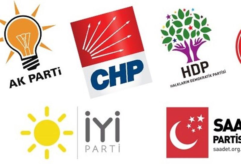 گزارش تسنیم موازنات سیاسی احزاب ترکیه در سال 2018