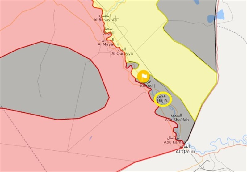 گزارش اختصاصی تسنیم|ابعاد جدید حمله موشکی به «هَجین»؛ ضربه بزرگ سپاه به نقشه آمریکا در «البوکمال» + نقشه و تصاویر
