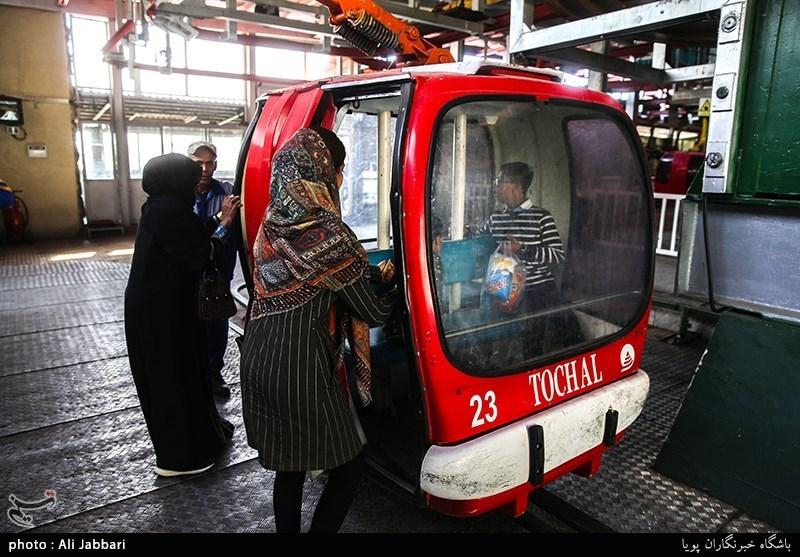 عکس/ آلودگی شدید هوای تهران از فراز توچال