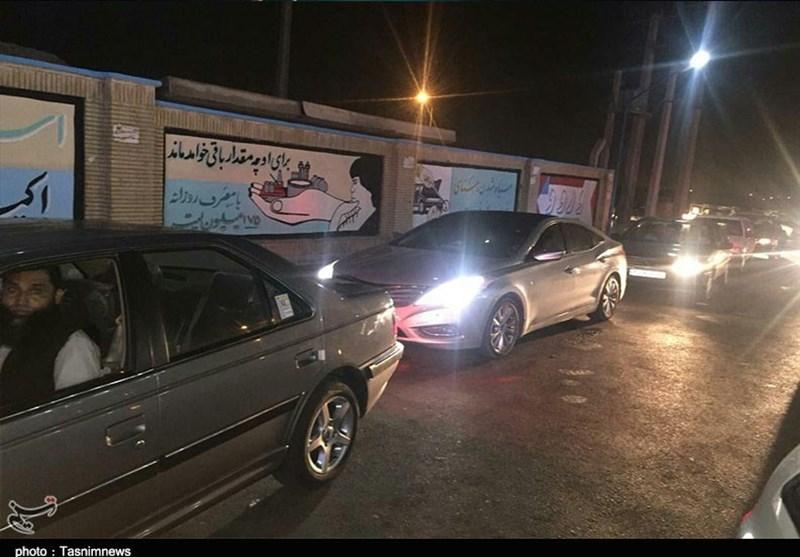 حکایت ناتمام صفهای طویل بنزین در بلوچستان+فیلم