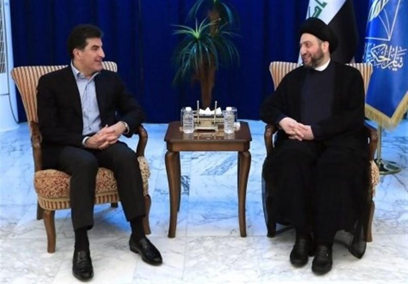 El Hekim, Mesud Barzani Ve Neçirvan Barzani İle Görüştü