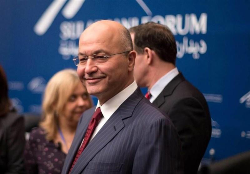 «برهم صالح» رئیسجمهور جدید عراق شد