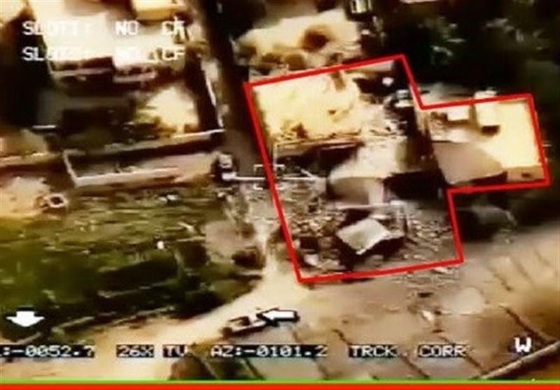 الصور الاولى لمکان استهداف صواریخ حرس الثورة الاسلامیة لمقر الارهابیین فی سوریا