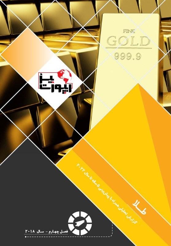برآورد راهبردی و پیشبینی قیمت طلا تا 5 سال آینده منتشر شد