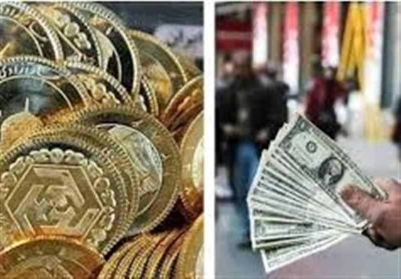 قیمت طلا، قیمت دلار، قیمت سکه و قیمت ارز امروز 97/12/26