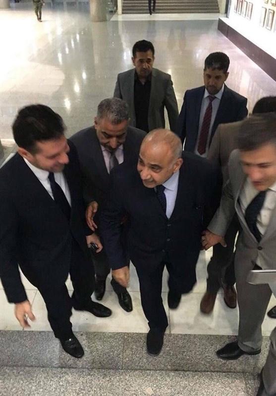 عراق| نشست 3 جانبه بین الحلبوسی، برهم صالح و عبدالمهدی