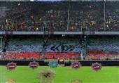 تصاویری از اجتماع 100 هزار نفری بسیجیان در ورزشگاه آزادی