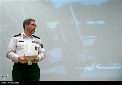 سردار تقی مهری رئیس پلیس راهنمایی و رانندگی نیروی انتظامی
