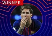 فوتبال جهان| لیونل مسی بازیکن برتر هفته دوم مرحله گروهی لیگ قهرمانان اروپا شد