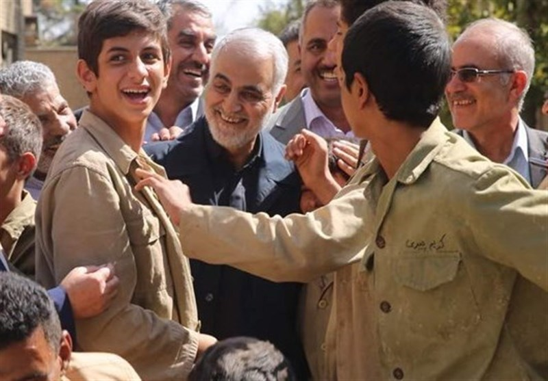 فیلم سینمایی «23 نفر» با حضور سردار سلیمانی کلید خورد