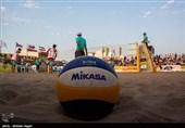 تقابل ایران ب و اوکراین در فینال تور جهانی والیبال ساحلی ساتون