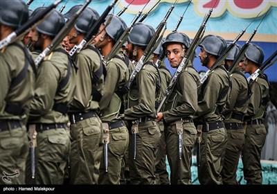 صبحگاه مشترک یگانهای نیروی انتظامی