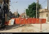 ابراز نگرانی کسبه بازار از بیتوجهی شهرداری به آسفالت خیابان شهید عدالت بهبهانی