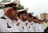 صبحگاه مشترک نیروهای مسلح استان سمنان به مناسبت هفته ناجا برگزار شد+فیلم