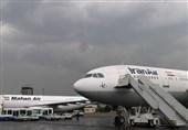 سیستان و بلوچستان| طوفان مسیر پرواز تهران - زابل را تغییر داد