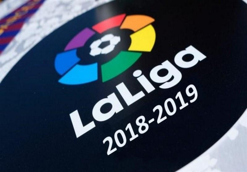 فوتبال جهان|جدول ردهبندی لالیگا در پایان شب اول از هفته سی و چهارم