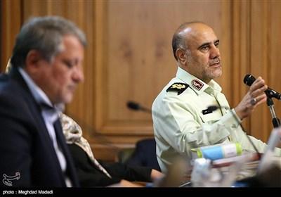 سردار رحیمی رئیس پلیس تهران
