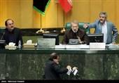 مجادله لفظی لاریجانی و نقوی حسینی بر سر تصویب 20 دقیقهای برجام