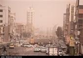 هوای استان البرز در حالت هشدار قرار گرفت